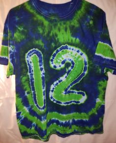 Hippie Art, Home Team, Seattle Seahawks, Tye Dye, Dyes, Trending Outfits, T Shirt, Etsy, Clothes
