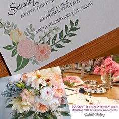 Customizing our designs to your bouquet colors! #Beholddesignz #weddingwednesday