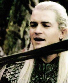 "Legolas Greenleaf part 3 ""an elven blade, forged by my kin..."""