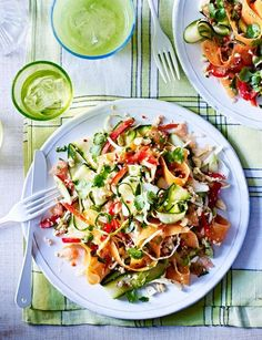 Raw Thai citrus crunch salad