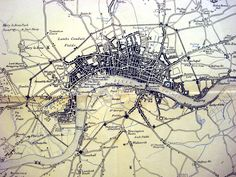 Map of London 1660
