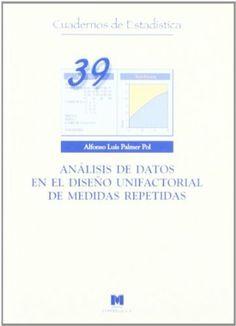 Análisis de datos en el diseño unifactorial de medidas repetidas / Alfonso Luis Palmer Pol
