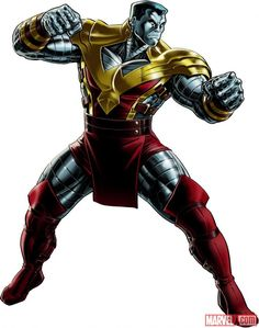 Colossus (alternate costume) character model from Marvel: Avengers Alliance | Marvel.com