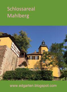 Mahlberg: Das Barockschloss mit dem Schlossgarten, der mittelalterlichen Burg und den Stallgebäuden für Pferde. #edgarten #gartenblog #mahlberg Berg, Desktop Screenshot, Mansions, House Styles, Medieval Castle, Germany, Fancy Houses, Mansion, Manor Houses
