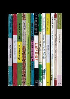 What if Brian Wilson and the rest of the Beach Boys had been novelists instead of musicians? Heres how their classic pop album Pet Sounds might have appeared - as a collection of books.  Each book in this print corresponds to a track on the album, arranged in the order they appear on the original vinyl release. Theyre all based on those wonderful classic Penguin and Pelican paperback book designs.  The books, in track order, are: Wouldnt It Be Nice, You Still Believe In Me, Thats Not Me…