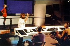 Camera tests for the aborted Star Trek Phase II series (circa 1977). Most of the preproduction work (and money) for this show was folded into what became Star Trek The Motion Picture two years later.