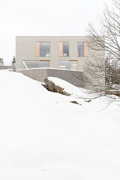 John Pawson - Photographing Palmgren House in the snow