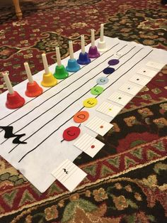 The Montessori method of education teaches reading and writing by isolating each sound/symbol and allowing the child to manipulate them herself through the movable alphabet. So why would we teach … Online Music Lessons, Music Lessons For Kids, Music Lesson Plans, Music For Kids, Piano Lessons, Music Education Games, Music Activities, Team Building Activities, Montessori