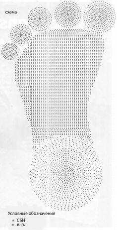 Meu Mundo Craft: Tapete de pé em crochê