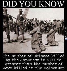 "Chinese Holocaust - WWII - Read the book ""THE RAPE OF NANKING"""