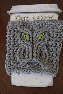Owl Cozy - free crochet pattern by Chelsea Radley.
