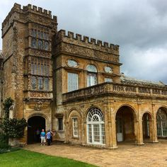 Forde Abbey - the entrance to the house which contains the famous Mortlake Tapestries. @fordeabbey