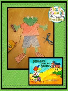 Fun craftivity to accompany Froggy books!