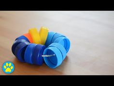 DIY Bottle Top Throw Toy For Rabbits - YouTube