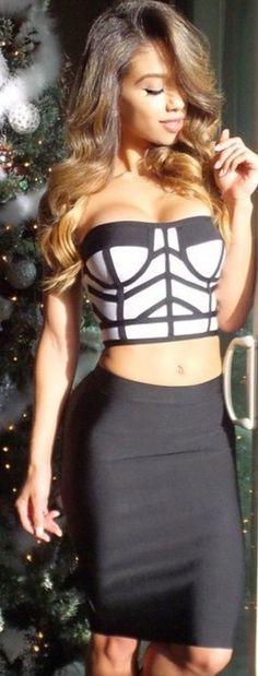 Piece geometric top dress · madam model · online store powered by storenvy