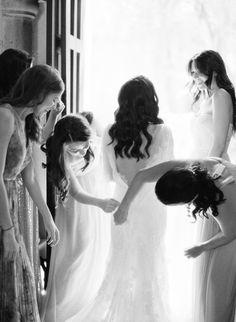 Romantic and Rustic Wedding in Mexico #wedding #bridemaids  #Pronovios