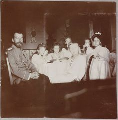The Romanov Family Albums, the images were rescued by the Tsarina′s friend, Anna Vyrubova.