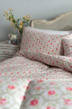 Cath Kidston Provence Rose Grey