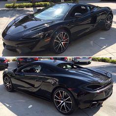 McLaren 570s Onyx Black. Carbon Black Apex Interior @mclarenpalmbeach
