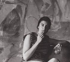 """There are no rules. That is how art is born..."" Helen Frankenthaler, US abstract expressionist #womensart"