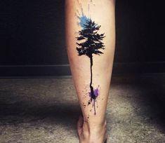 Tree tattoo by Lina Tattoo Art