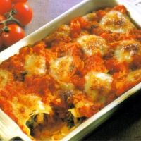 Vegetable Cannelloni Recipe    With eggplant and spinach