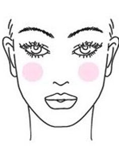 How to Apply Blush For Your Face Shape - Oval
