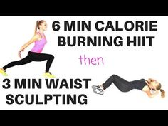 (39) QUICK HIIT CARDIO HOME WORKOUT THEN WAIST AND AB TONING WORKOUT -suitable for beginners - - YouTube