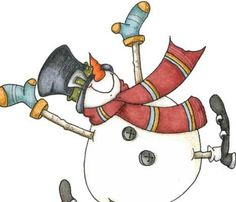 These cheerful digital stamps & colored illustrations will put your imagination into overdrive when you start creating those family Christmas cards & holiday invitations. Family Christmas Cards, Christmas Clipart, Christmas Snowman, Primitive Christmas, Rustic Christmas, Snowman Clipart, Christmas Hot Chocolate, Cute Snowman, Snowmen