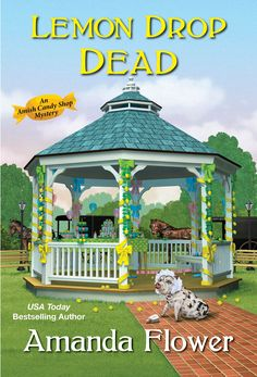 Murder always leaves a sour taste... Although baby showers aren't an Amish tradition, Bailey King wants to celebrate Emily Keim's forthcoming bundle of joy. It's the least she can do for her hardworking assistant at Swissmen Sweets, especially with Emily being estranged from her siblings. Everyone in Harvest, Ohio has gathered at the town gazebo--decked out in lemon-themed décor to add some of Emily's favorite flavor to the festivities. Mystery Series, Mystery Books, Mystery Thriller, Amanda Flowers, Book Club Books, Good Books, Drop, Kensington Books, Cozy Mysteries