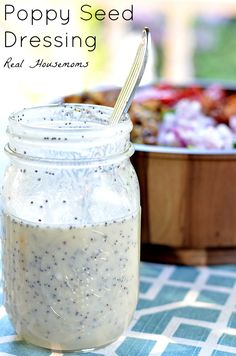 Poppy Seed Dressing | Real Housemoms | This dressing is my favorite in the summer!