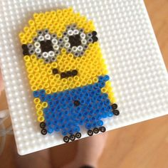 Minion hama beads by thyboline