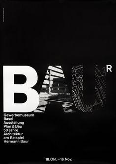 BAUR by Hofmann, Armin | Vintage Posters at International Poster Gallery