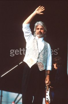 Michael McDonald performs on stage...