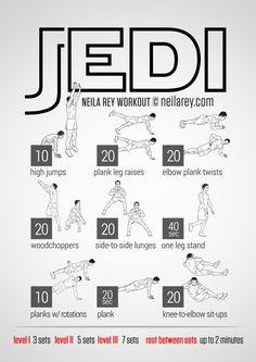 Jedi Workout | neilarey.com | #fitness #bodyweight