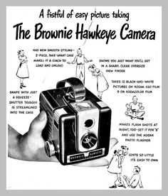 The good ol' Brownie Still Photography, History Of Photography, Photography Camera, Underwater Photography, Pregnancy Photography, Underwater Photos, Vintage Photography, Landscape Photography, Portrait Photography