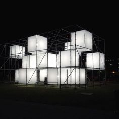 @next_top_architects   Point Cloud is a temporary large-scale #publicart #light #sculpture created by artist John Ensor Parker.#LightYards #ACreativeDC photo by @myluckyystars   #nextarch #next_top_architects