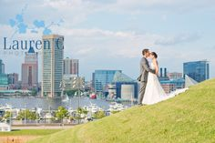 For Baltimore weddings, Federal Hill gives a wonderful view of the harbor.