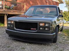 Chevy Trucks Lowered, Custom Chevy Trucks, Jacked Up Trucks, Chevy Pickup Trucks, Gm Trucks, Chevy Pickups, Chevrolet Trucks, Chevrolet Silverado, Obs Truck