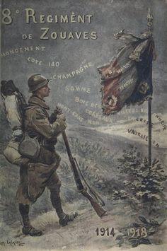 Historique du 8e régiment de marche de zouaves