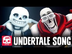 """Sans and Papyrus Song - An Undertale Rap by JT Machinima """"To The Bone"""" [SFM] - YouTube"""