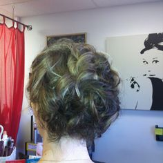 Mother of groom up do