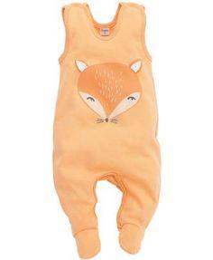 Strampler Fuchs orange