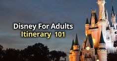 Who says Disney World is only for kids? It's definitely not. There are plenty of things that are actually geared more towards adults. I personally really enjoy taking adult only trips. Going with the whole family and going with adults only are like two completely different trips. You get to experience things that you may ...