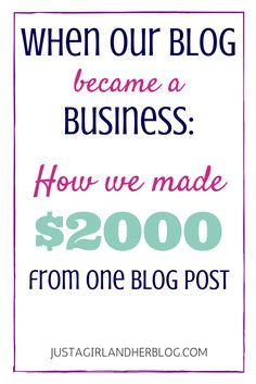 Helpful information to know for monetizing your blog! | JustAGirlAndHerBlog.com