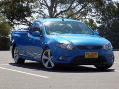 Discounted Used 2010 Ford Falcon FG Ute Super Cab Anniversary Blue 6 Speed Automatic Utility - Adelaide Vehicle Centre - Commercials, Enfield Aussie Muscle Cars, Van Car, Ford Falcon, Ford Gt, 50th Anniversary, Cars For Sale, Centre, Vehicles, Cars For Sell