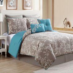 Found it at Wayfair - Arona 8 Piece Comforter Set