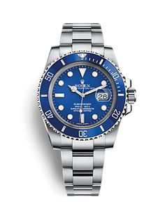 Rolex Submariner Date (Blue, Silver & Gold) - UK Replica Watches. We supply the highest grade UK replica watches and many more replica watch brands. Rolex Daytona, Daytona Watch, Rolex Cosmograph Daytona, Rolex Submariner No Date, Rolex Datejust, Rolex Watches For Men, Sport Watches, Luxury Watches, Swiss Army Watches