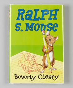 Take a look at this Ralph S. Mouse Hardcover by HarperCollins on #zulily today!