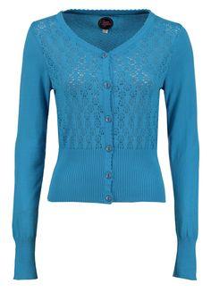 Summer Cardigan Swedish Blue